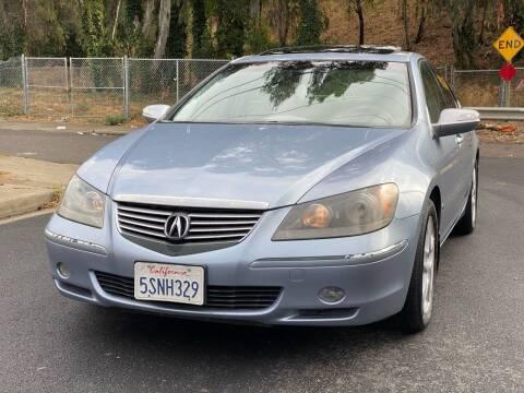 2006 Acura RL for sale at ZaZa Motors in San Leandro CA