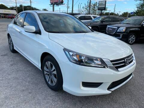 2015 Honda Accord for sale at Marvin Motors in Kissimmee FL