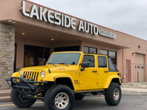 2009 Jeep Wrangler Unlimited for sale at Lakeside Auto Brokers in Colorado Springs CO