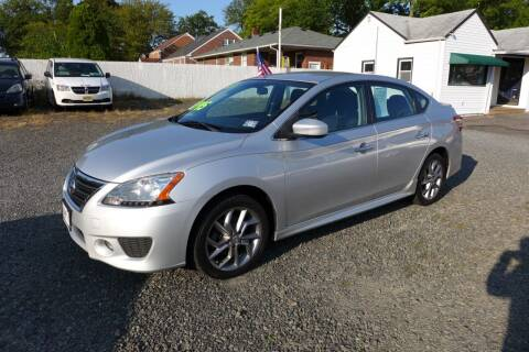 2013 Nissan Sentra for sale at FBN Auto Sales & Service in Highland Park NJ