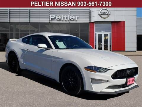 2020 Ford Mustang for sale at TEX TYLER Autos Cars Trucks SUV Sales in Tyler TX