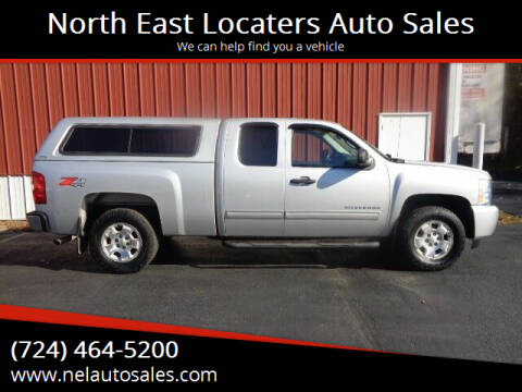 2010 Chevrolet Silverado 1500 for sale at North East Locaters Auto Sales in Indiana PA