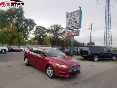 2014 Ford Fusion for sale at Five Star Auto Center in Detroit MI