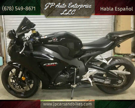 2013 Honda CBR-1000R for sale at JP Auto Enterprise LLC in Duluth GA