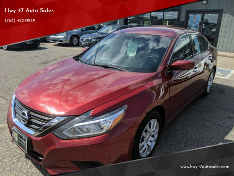 2016 Nissan Altima for sale at Hwy 47 Auto Sales in Saint Francis MN