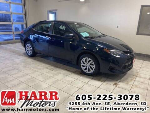 2018 Toyota Corolla for sale at Harr's Redfield Ford in Redfield SD