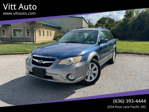 2008 Subaru Outback for sale at Vitt Auto in Pacific MO