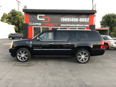 2011 Cadillac Escalade ESV for sale at Cars Direct in Ontario CA