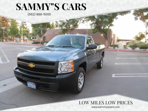 "2012 Chevrolet Silverado 1500 for sale at SAMMY""S CARS in Bellflower CA"