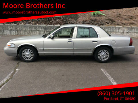 2006 Mercury Grand Marquis for sale at Moore Brothers Inc in Portland CT