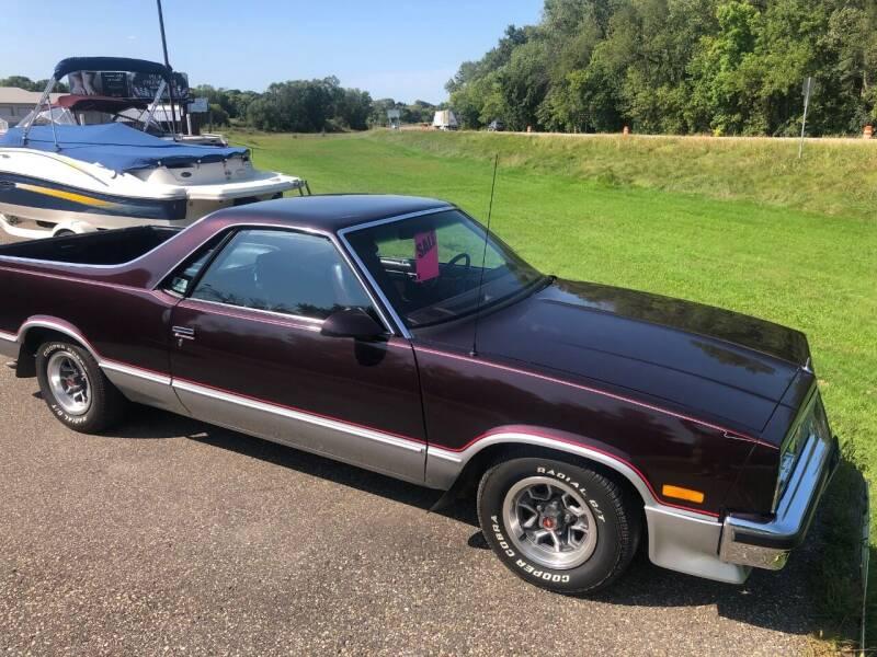 1987 Chevrolet El Camino for sale at Triple R Sales in Lake City MN