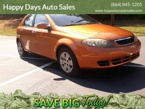 2008 Suzuki Reno for sale at Happy Days Auto Sales in Piedmont SC