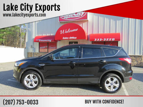 2013 Ford Escape for sale at Lake City Exports in Auburn ME