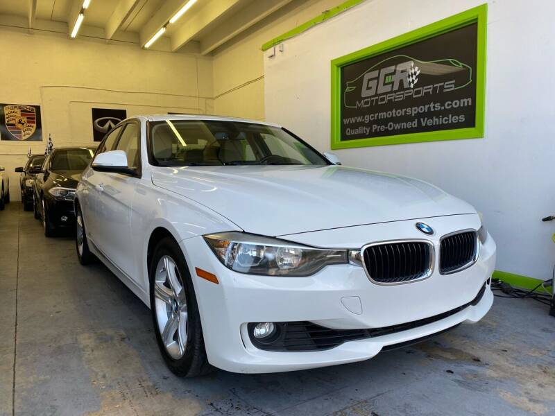 2013 BMW 3 Series for sale at GCR MOTORSPORTS in Hollywood FL