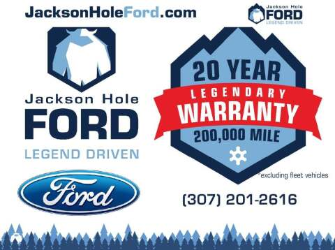 2018 Ford F-150 for sale at Jackson Hole Ford of Alpine in Alpine WY