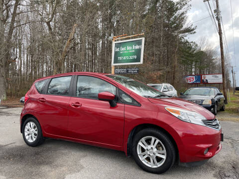2015 Nissan Versa Note for sale at East Coast Auto Brokers in Chesapeake VA