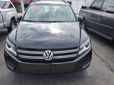 2016 Volkswagen Tiguan for sale at All State Auto Sales, INC in Kentwood MI
