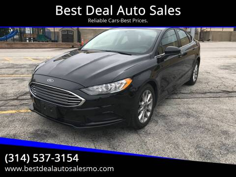 2017 Ford Fusion for sale at Best Deal Auto Sales in Saint Charles MO