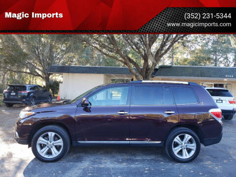 2013 Toyota Highlander for sale at Magic Imports in Melrose FL