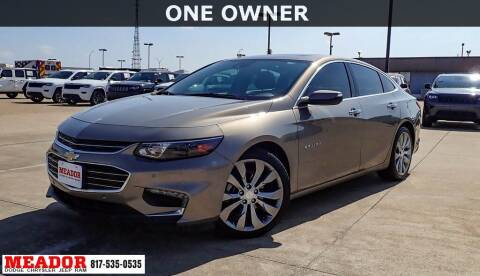 2017 Chevrolet Malibu for sale at Meador Dodge Chrysler Jeep RAM in Fort Worth TX