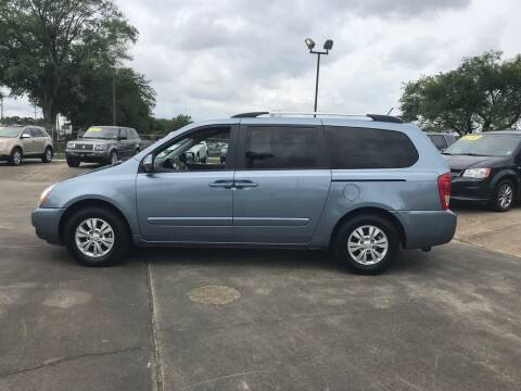 2012 Kia Sedona for sale at Bobby Lafleur Auto Sales in Lake Charles LA