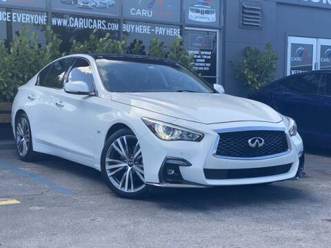 2020 Infiniti Q50 for sale at CARUCARS LLC in Miami FL