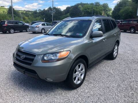 2007 Hyundai Santa Fe for sale at R.A. Auto Sales in East Liverpool OH