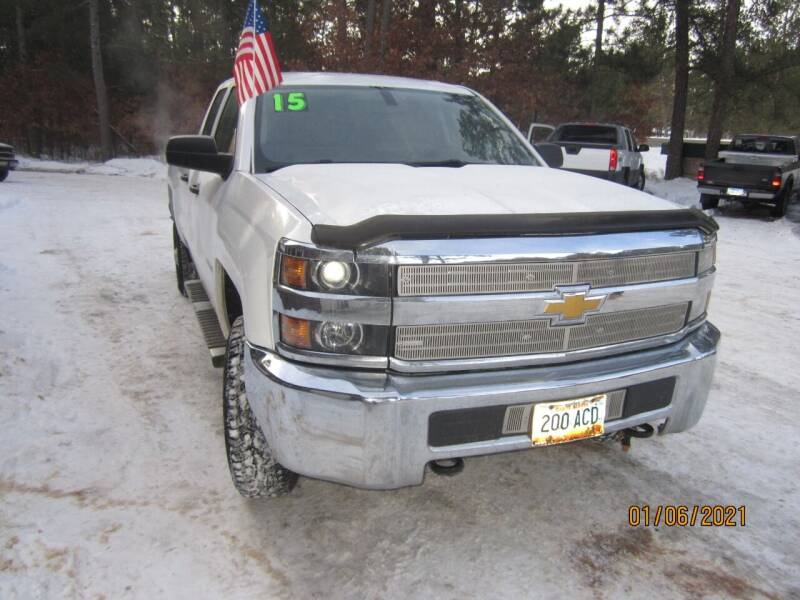 2015 Chevrolet Silverado 2500HD for sale at SUNNYBROOK USED CARS in Menahga MN
