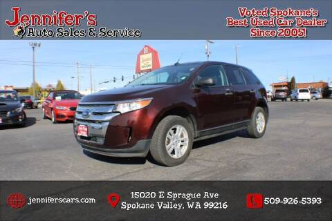 2012 Ford Edge for sale at Jennifer's Auto Sales in Spokane Valley WA