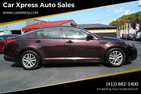 2011 Kia Optima for sale at Car Xpress Auto Sales in Pittsburgh PA