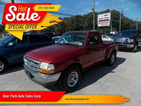 1999 Ford Ranger for sale at Deer Park Auto Sales Corp in Newport News VA