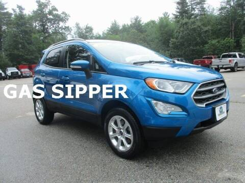 2019 Ford EcoSport for sale at MC FARLAND FORD in Exeter NH
