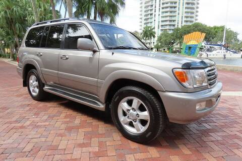 2003 Toyota Land Cruiser for sale at Choice Auto in Fort Lauderdale FL