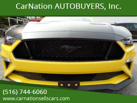 2018 Ford Mustang for sale at CarNation AUTOBUYERS, Inc. in Rockville Centre NY