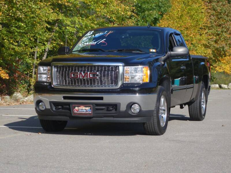 2013 GMC Sierra 1500 for sale at Auto Mart in Derry NH