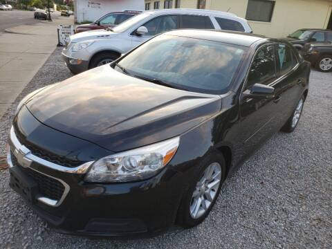 2015 Chevrolet Malibu for sale at Claborn Motors, LLC. in Cambridge City IN
