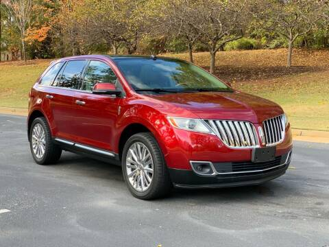 2013 Lincoln MKX for sale at Top Notch Luxury Motors in Decatur GA