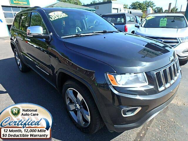 2015 Jeep Grand Cherokee for sale at Jon's Auto in Marquette MI