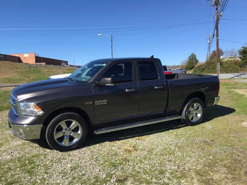 2014 RAM Ram Pickup 1500 for sale at Clayton Auto Sales in Winston-Salem NC