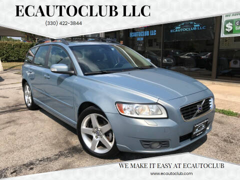 2008 Volvo V50 for sale at ECAUTOCLUB LLC in Kent OH