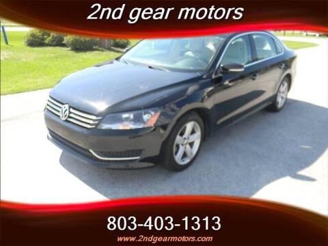 2014 Volkswagen Passat for sale at 2nd Gear Motors in Lugoff SC