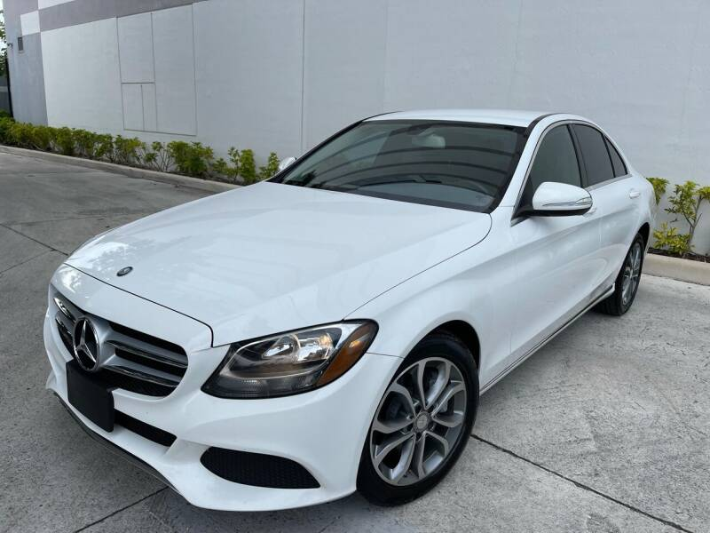 2015 Mercedes-Benz C-Class for sale at Auto Beast in Fort Lauderdale FL