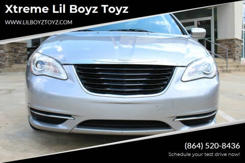 2014 Chrysler 200 Convertible for sale at Xtreme Lil Boyz Toyz in Greenville SC