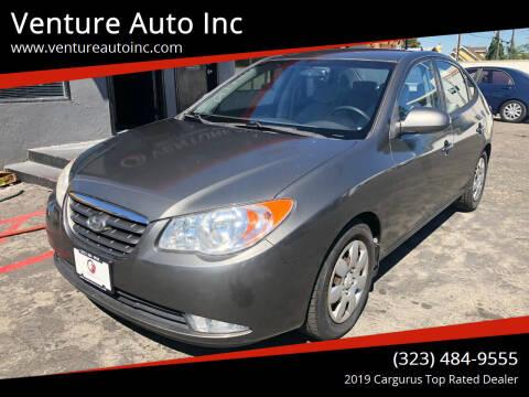 2008 Hyundai Elantra for sale at Venture Auto Inc in South Gate CA
