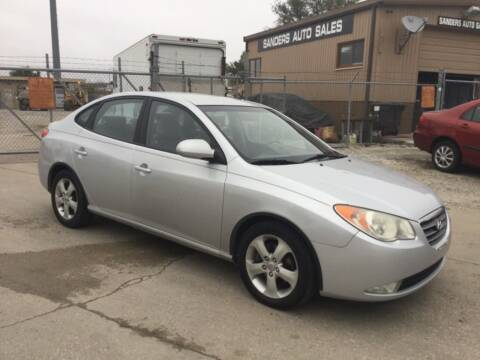 2007 Hyundai Elantra for sale at Sanders Auto Sales in Lincoln NE