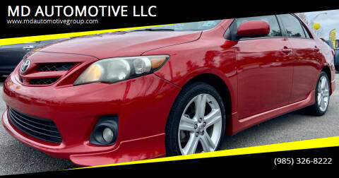 2013 Toyota Corolla for sale at MD AUTOMOTIVE LLC in Slidell LA