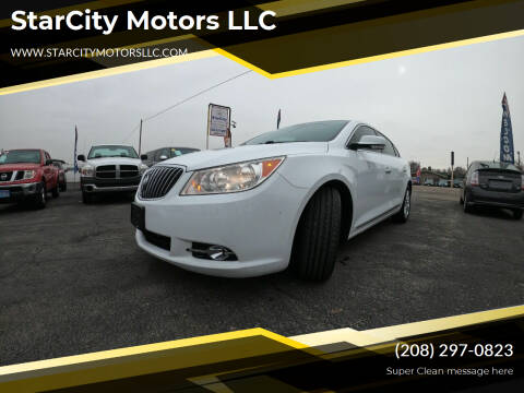 2013 Buick LaCrosse for sale at StarCity Motors LLC in Garden City ID