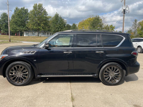 2015 Infiniti QX80 for sale at Truck and Auto Outlet in Excelsior Springs MO