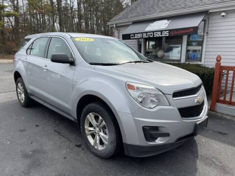2013 Chevrolet Equinox for sale at Clear Auto Sales 2 in Dartmouth MA