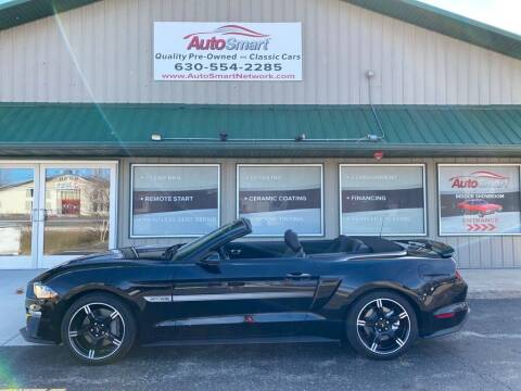 2020 Ford Mustang for sale at AutoSmart in Oswego IL